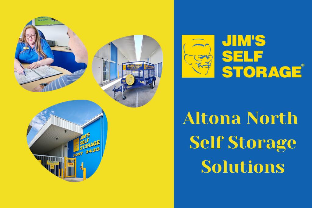 self storage altona north banner