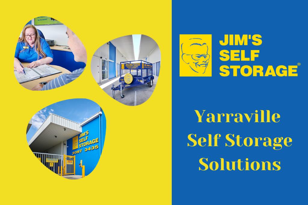 self storage yarraville banner
